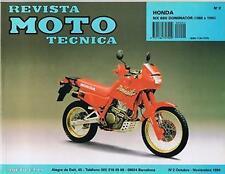 MANUAL de taller y  REPARACION MOTO  HONDA NX 650J DOMINATOR 1988-94