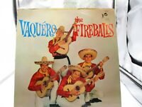 THE FIREBALLS VAQUERO LP TOP RANK RM 343 VINYL VG+ Cover VG