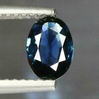 0.72 Cts Normal Heated! Best Color Oval_100% Natural Blue Sapphire