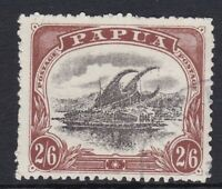 PNG940a) Papua 1910-11 Lakatoi large Papua 2/6d type C SG 83, odd nibbled perf