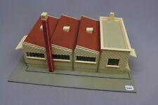 Y1089 Jouef 1014 maquette train Ho 1:87 usine moderne cheminée brique assemblé