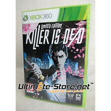 Jeu XBOX 360 - KILLER IS DEAD LIMITED EDITION - Neuf Blister Officiel & Scellé