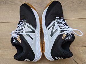 Men's New Balance Fresh Foam 3000v4 Turf Black/White Baseball Shoes US 11