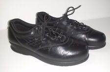 Womens SAS Black Shoe Free Time Walking Comfortable Lace Up Oxford Size 5 M