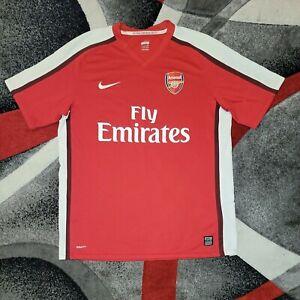 Nike FITDry Arsenal Fly Emirates Soccer Jersey Men Size Large