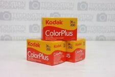 3 x Kodak ColorPlus 35mm Films - New UK Stock Expiry 06/22