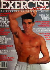 EXERCISE FOR MEN ONLY MAGAZINE MAY 1987- VINTAGE MALEPAK AD
