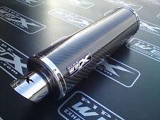 KTM 125 Duke 2011 - 2016  Carbon Fibre Round Exhaust Can, Road Legal inc Baffle