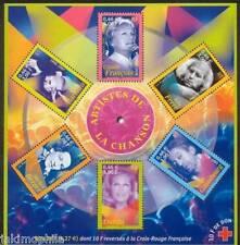 Bloc n° 37 Artistes de la Chanson  2001 NEUF ** - LUXE