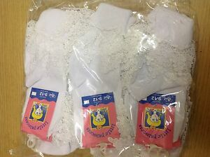 Wholesale 12 Pairs WHITE Guipure DROP DOWN LEAF LACE TOT ANKLE *BUY BRITISH*