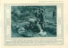1916 pistolas en campo de golf Londres Pistola de campo de elevación Italia Alpes