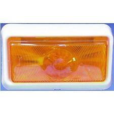 American Motorhome RV Porch Light Replacement Amber Lens