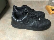 Men's Classic NIKE AIR FORCE 1 Black [315122-001] Size 12 (CON28)
