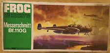 Messerschmitt Bf.110G kit modelo de avión Rana 1/72 Vintage Bolsa Sellada #157R