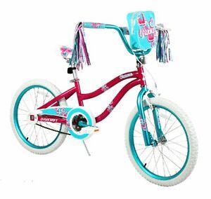 Girl's Charmer Bike 20 in Wheels Steel Frame Removeable Handlebar Bag