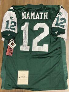 JOE NAMATH Online Authentics OA Signed Starter Pro Line Jersey Autograph
