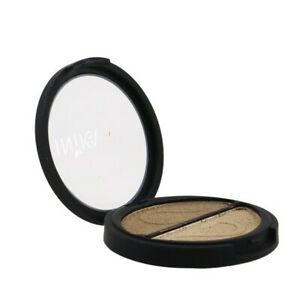 INIKA Organic Pressed Mineral Eye Shadow Duo - # Gold Oyster 3.9g Womens Make Up