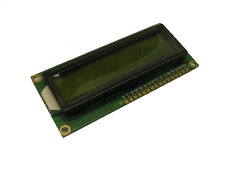 16 x 2 LCD Display Modul HD44780, gelb