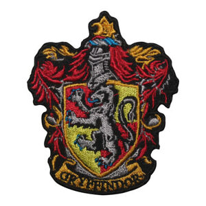 Harry Potter Gryffindor logo Patch Iron On Patch Sew On Badge Embroidered Patch