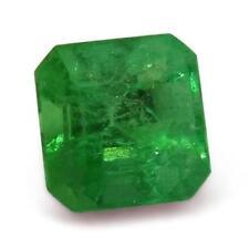 Gioielli e gemme di smeraldo taglio smeraldo quadrato