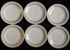 B'/ Lot x6 assiettes plates GEORGES BOYER Porcelaine de LIMOGES (lot n°4)