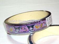 Sanrio Kuromi Stationery Adhesive Tape Stickers