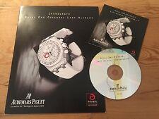 Booklet + CD - AUDEMARS PIGUET - Cronógrafo Royal Oak Offshore Lady Alinghi