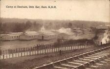 Denham near Uxbridge. Camp. 16th Ser.Batt.K.R.R. Railway.