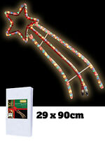 Shooting Star Rope Light Christmas Xmas Silhouette Indoor Outdoor 2D Decoration