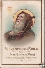 CALABRIA_S.FRANCESCO DI PAOLA_ANTICA CROMOLITOGRAFIA_SANTINO DA COLLEZIONE
