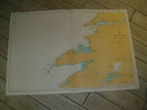 Vintage Admiralty Chart 2254 IRELAND - VALENTIA ISLAND to RIVER SHANNON 1981 edn