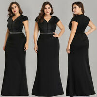 Ever-Pretty V-Neck Long Evening Prom Dresses Cocktail Holiday Party Ball Gowns
