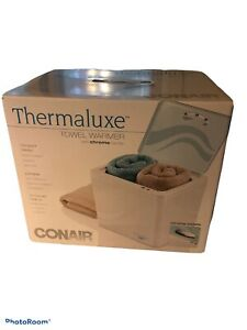 NEW Conair Thermaluxe Towel Water Compact Design Portable 20 Minute Heat-up