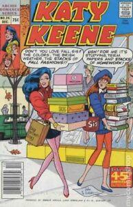 Katy Keene Special #24 FN- 5.5 1987 Stock Image Low Grade