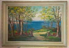 LISTED PETER KOSTER GALLERY ROCKPORT LANDSCAPE OIL PAINTING
