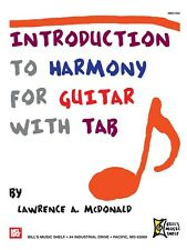 Introduction to Harmony for Guitar With Tab Learn to Play MUSIC BOOK Guitar