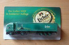 modèle Camion transport de la bière MAN Licher Édition limitée HS 22