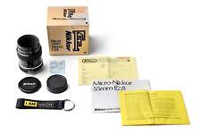 NIKON Micro-Nikkor 55mm f/2.8 - serial number: 438152