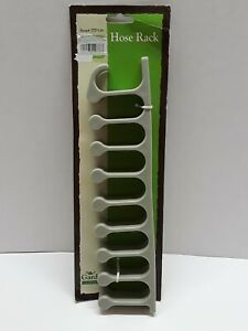 Garden Hose Wall Rack 9 molded fingers 11 in Long holds up to 100 FT 5/8 hose
