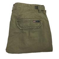 Tommy Hilfiger Men's Sage Green Cargo Pants Size 34x32