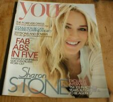 SHARON STONE rare UK YOU magazine from 2012 Ben Fogle Jilly Cooper