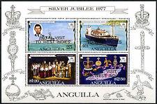 Anguilla 1977 Royal Visit MNH M/S #R452