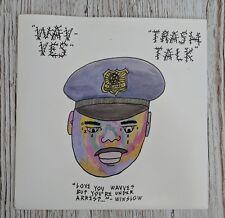 Wavves / Trash Talk split 7 inch RARE. HXC. Shoegaze. Vinyl. Record.