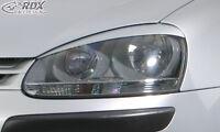 RDX Scheinwerferblenden VW Golf 5 Böser Blick Blenden Spoiler Tuning