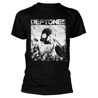 Deftones Skull Black Shirt S M L XL XXL Metal Rock Band Tshirt Official T-Shirt