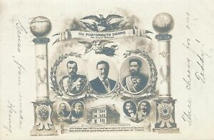 PORTSMOUTH NH - 1905 Russian Japanese Peace Conference Participants - udb