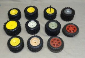Lot Of 11 Vintage Pairs Of John Deere Etc Tractor Tires Custom Parts