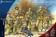 Perry Miniatures WW2 Afrikakorps German Infantry 1941-43 Plastic 28mm New!