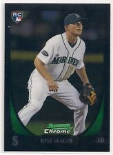 2011 Bowman Chrome #103 KYLE SEAGER ROOKIE Card RC Seattle Mariners