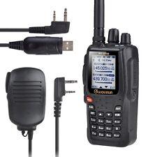 KG-UV8D Wouxun VHF/UHF Hand funkgerät 5W +USB Kabel+Lautsprecher Mikrofon walkie